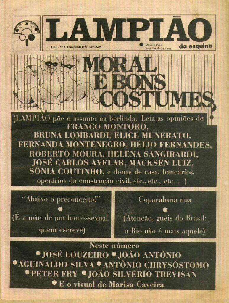 Lampião da Esquina edição 09 fevereiro 1979