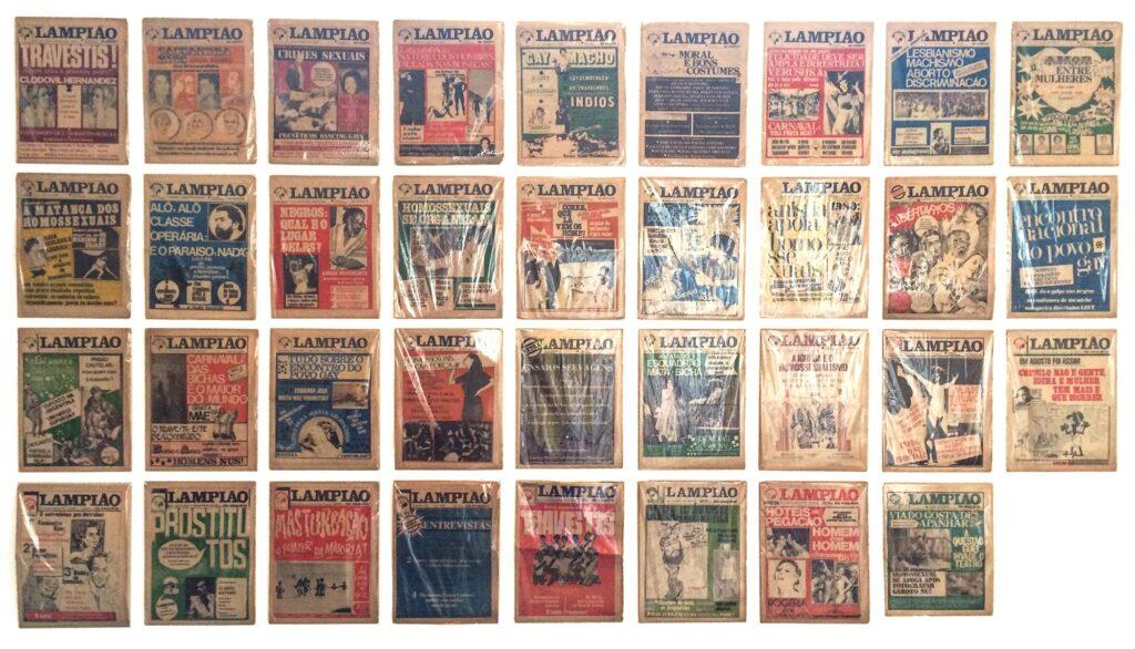edições originais Lampião da Esquina acervo Arco Íris
